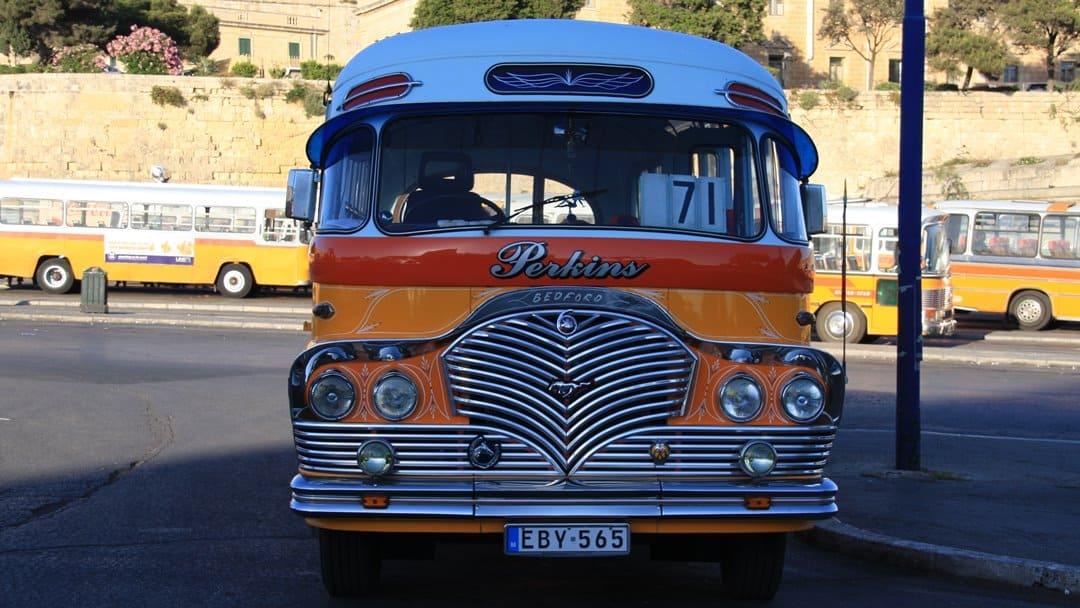 Public transport on Malta.