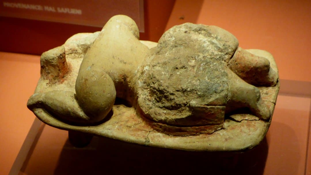 The Sleeping Lady of Ħal-Saflieni.