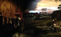A diorama in the Jorvic Viking Centre, York.