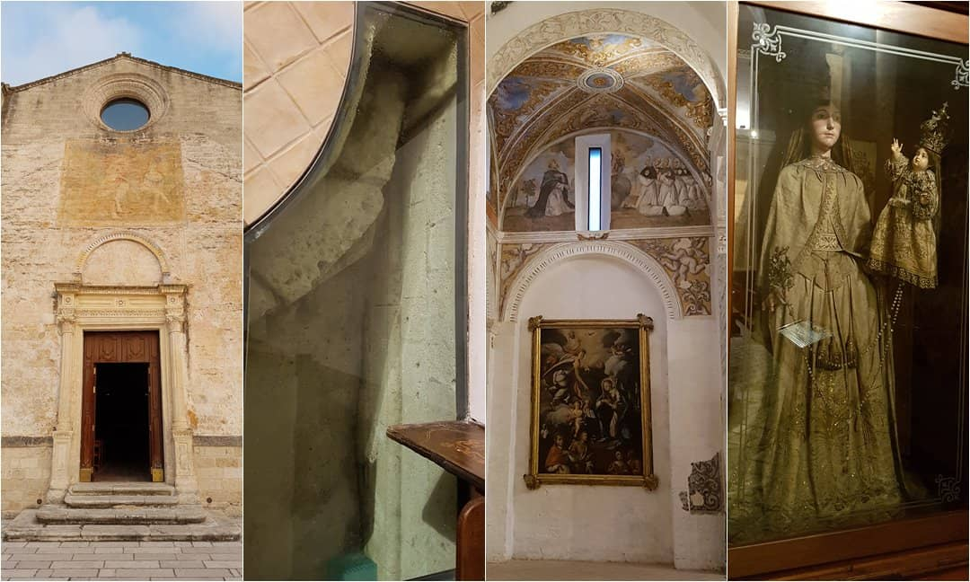 Different aspects of the interior in Chiesa Matrice.