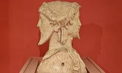 Double headed bust of Hermès in the Fréjus Archaeological Museum.