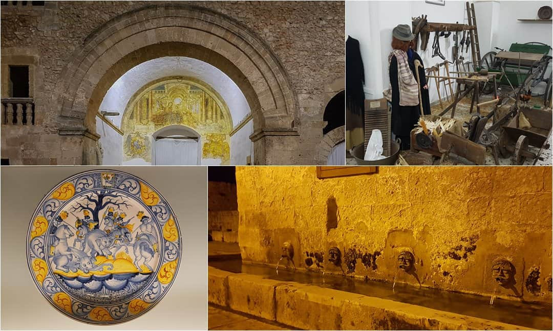 Museums and landmarks in Laterza, Puglia.