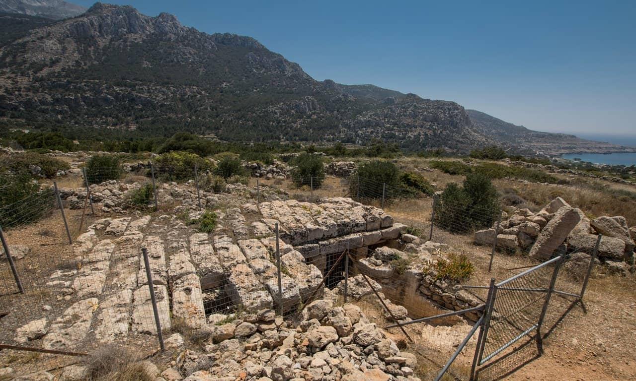 The Lefkos Roman cistern, Karpathos.