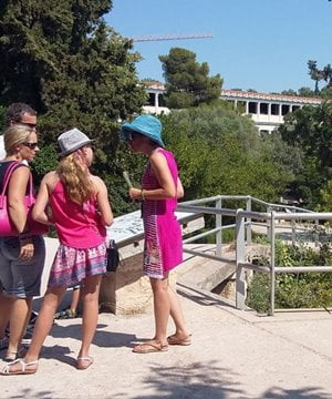 A private guided tour of ancient sites in Athens.
