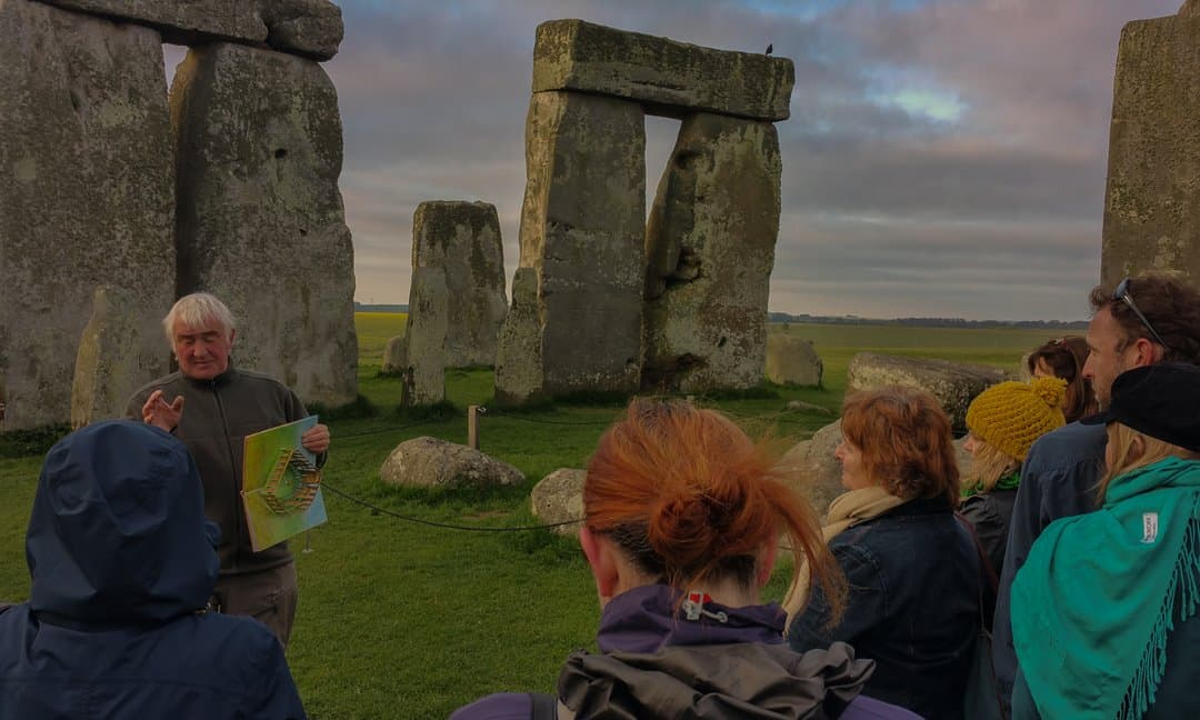 Small group sunrise tour at Stonehenge.