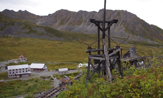 The abandoned Independence Mines, Alaska.