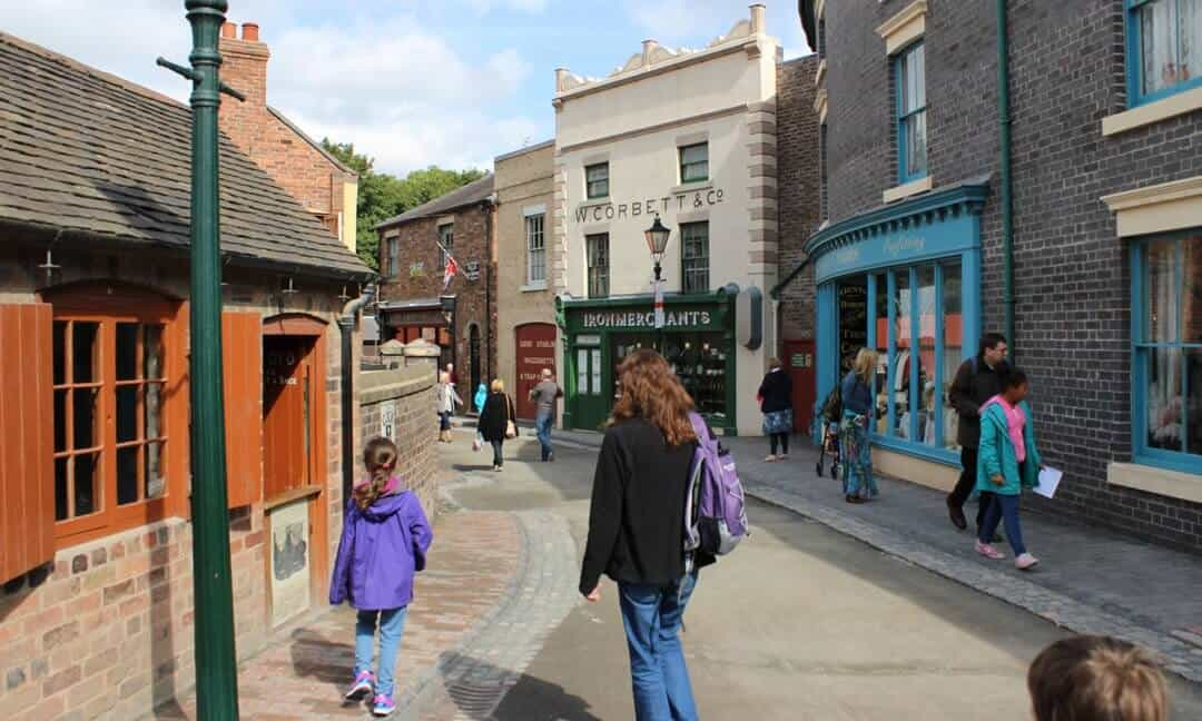 Blists Hill is a reconstructed Victorian Town in Shropshire, England.