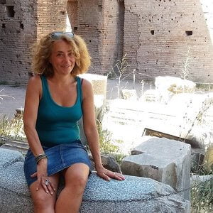 Claudia Pinci is a licensed tour guide for Rome.