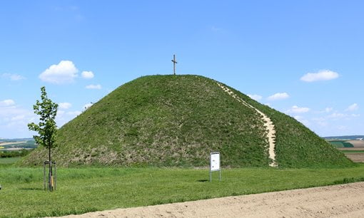 The Iron Age grave hill of Leeberg in Grossmugl, Austria.