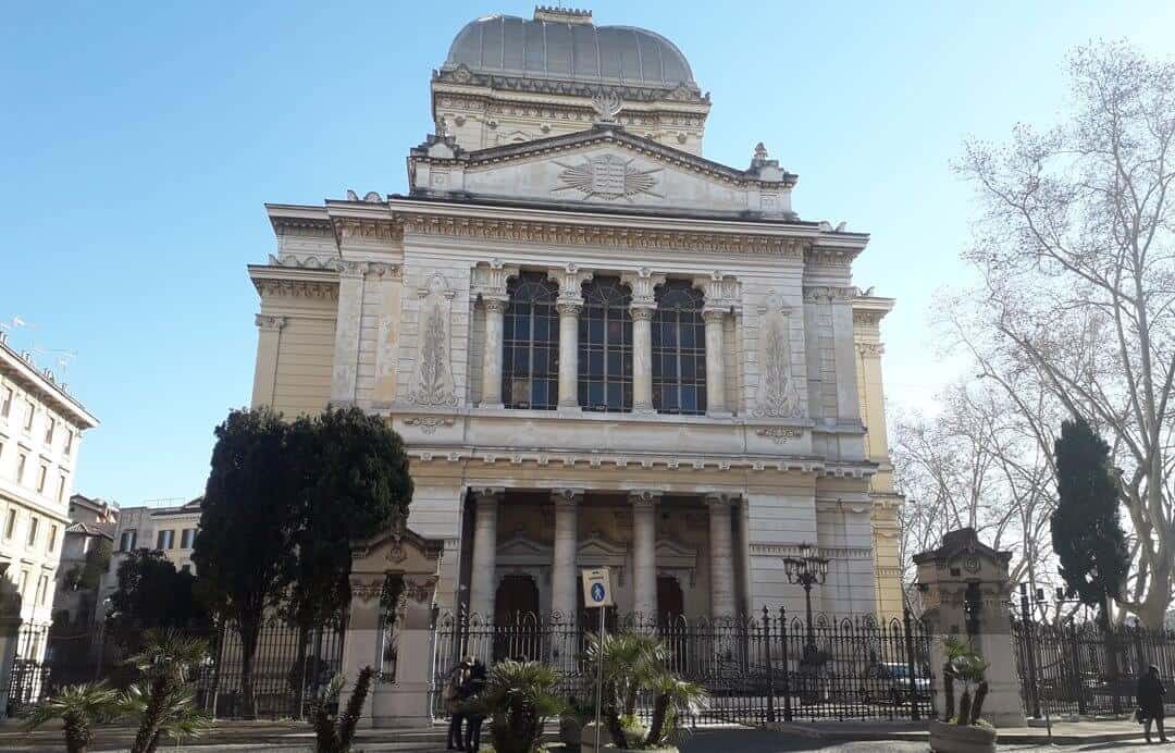 The Great Synagogue in Rome is home to the Jewish Museum of Rome.
