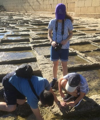The Zonqor Salt Pans are a perfect spot for inquisitive families.