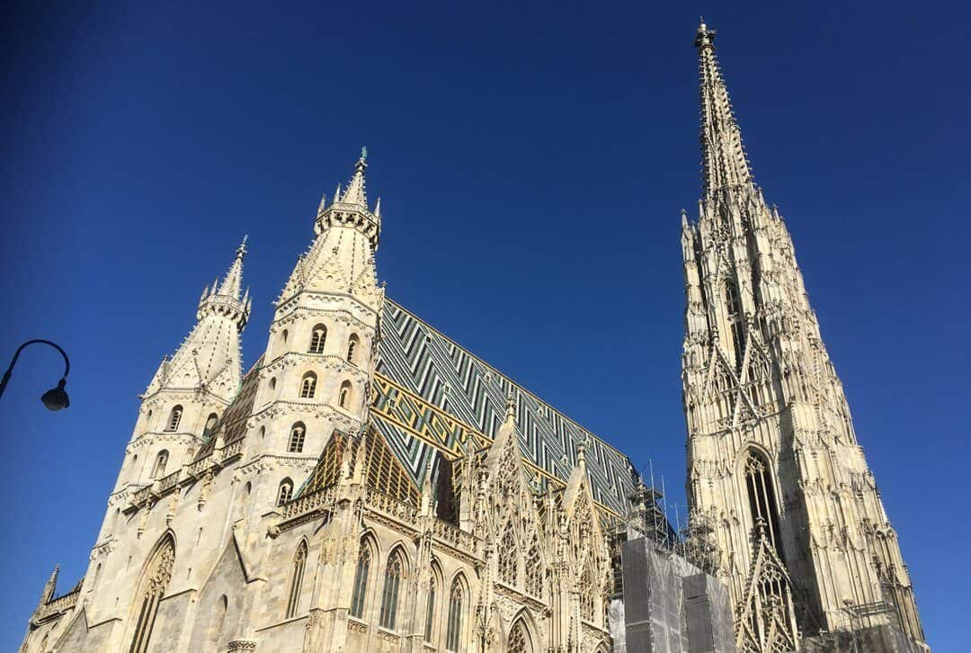 St Stephans Cathedral in Vienna.