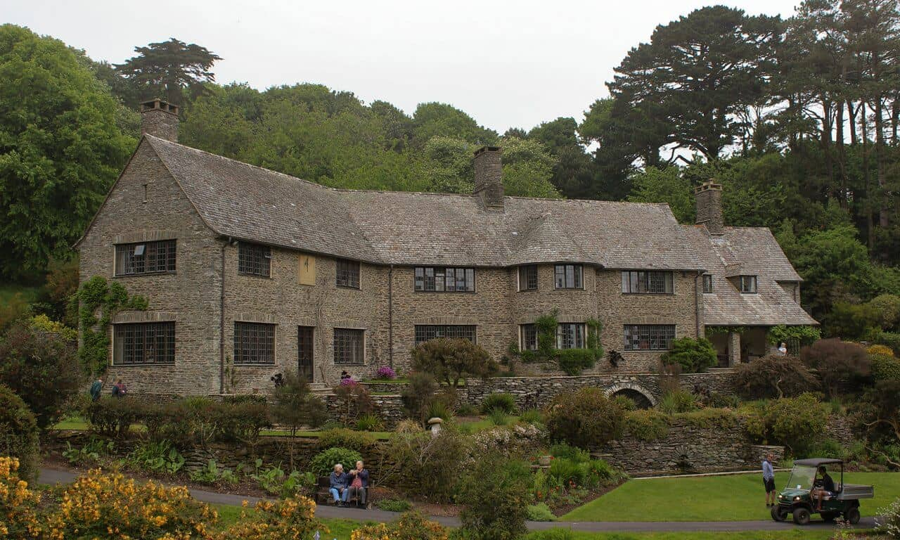 A Festive Experience in the Jazz Age at Coleton Fishacre in Devon, England