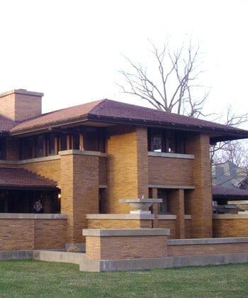One of a number of Frank Lloyd Wright buildings, eight of which were added to the UNESCO list in 2109.