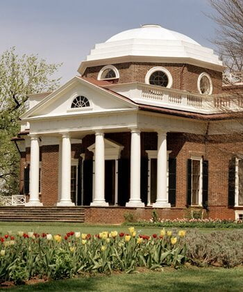 Monticello was the home of Thomas Jefferson, the third president of the USA.