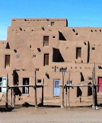 The Taos Pueblo added to the UNESCO list of World Heritage Sites in 1992.