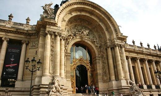 Main entrance to the Petit Palais, Paris.