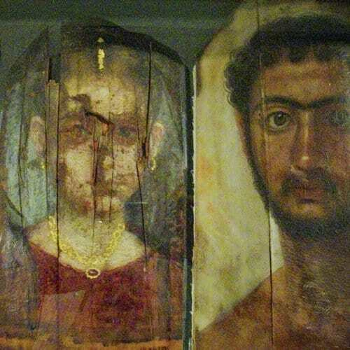 Roman portraits from the Petrie Museum in London