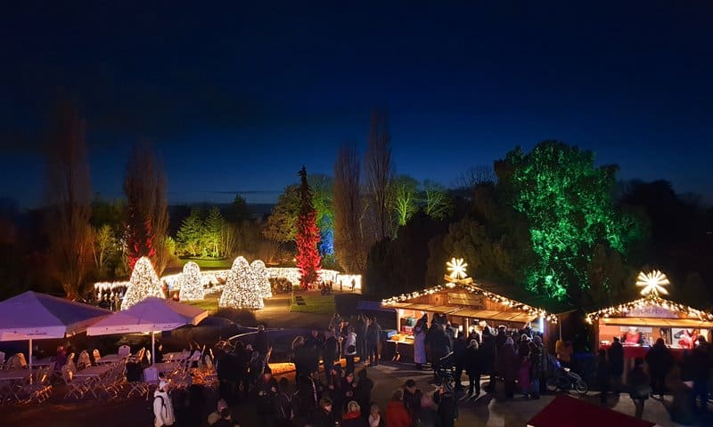 Christmas Garden Berlin 2021: A light Show at the Botanical Gardens