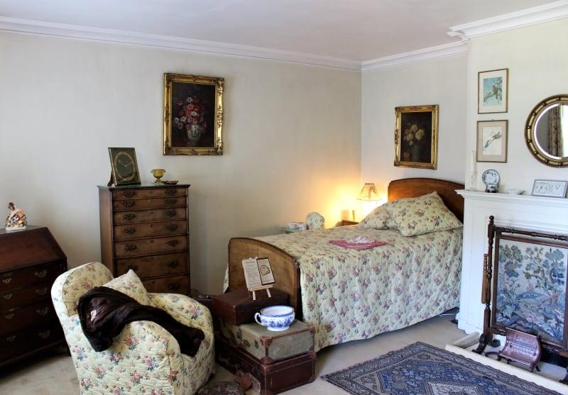 Inside a bedroom