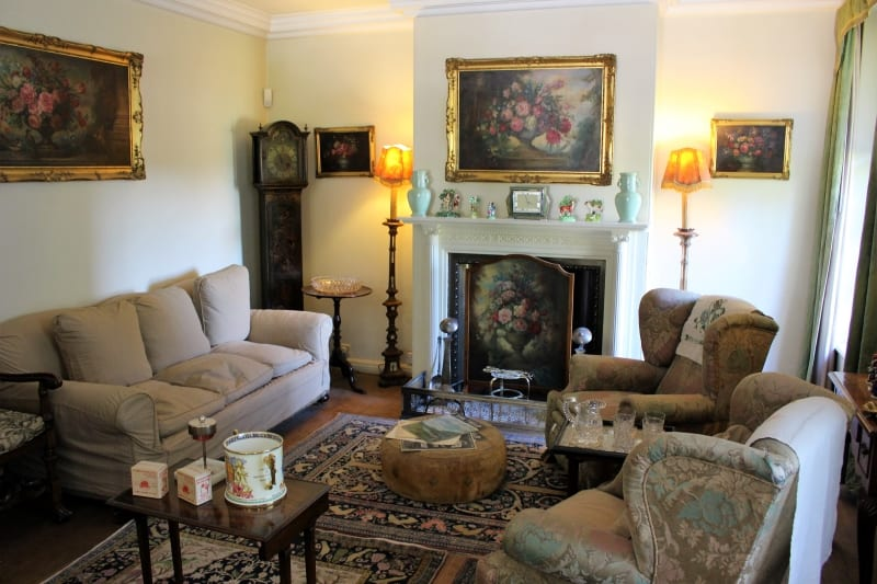 Inside the drawing room at Nuffield Place.