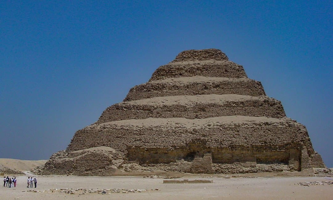 Djoser's Step Pyramid at Saqqara to Open in 2020