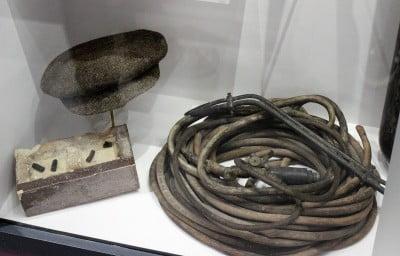 Tubing used in the Houndsditch break in.