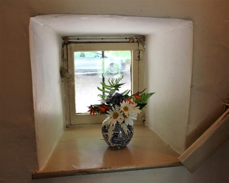 A small window inside Hardys birthplace .
