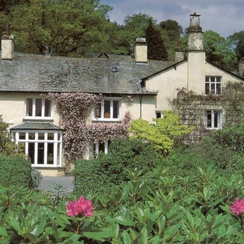 The exterior of Rydal Mount.