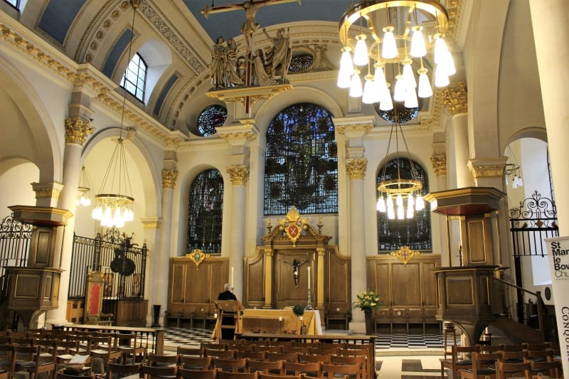 St. Mary le Bow, London