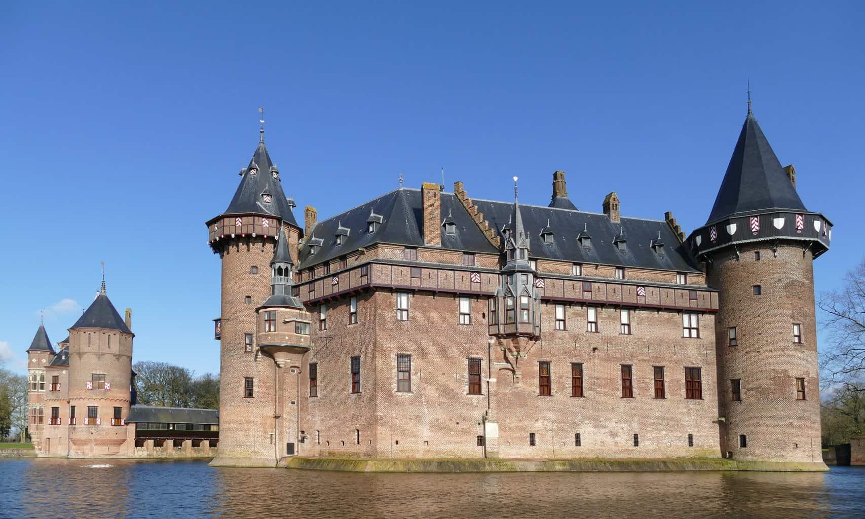 Castle de Haar in Utrecht, Netherlands.