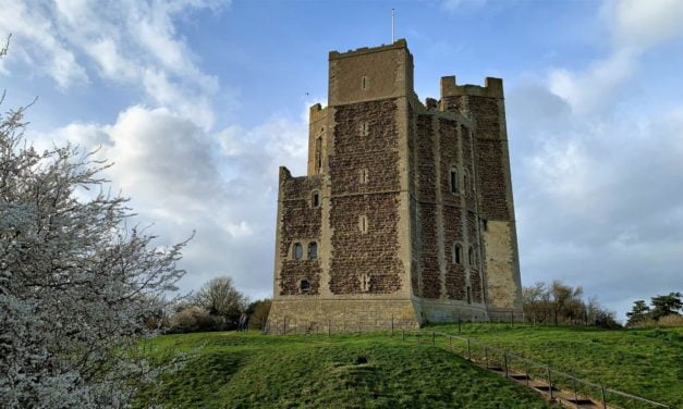 Orford Castle – One of the Most Remarkable Keeps in England