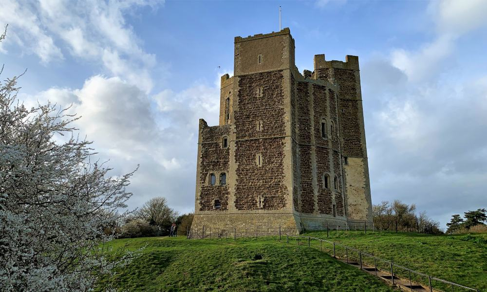 Orford Castle, One of England's Remarkable Keeps   Archaeology Travel