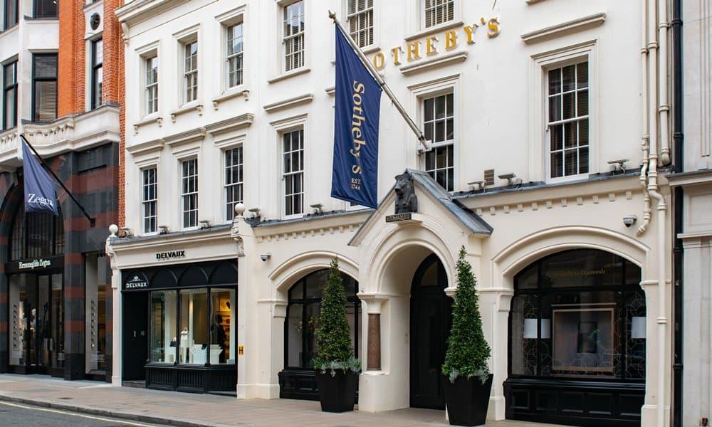 Sotheby's on Bond Street in London.