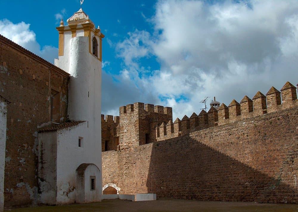 Alandroal Castle in the  Évora district of Portugal.