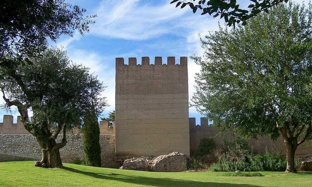 One of the square towers at Alcácer do Sal Castle, Portugal.