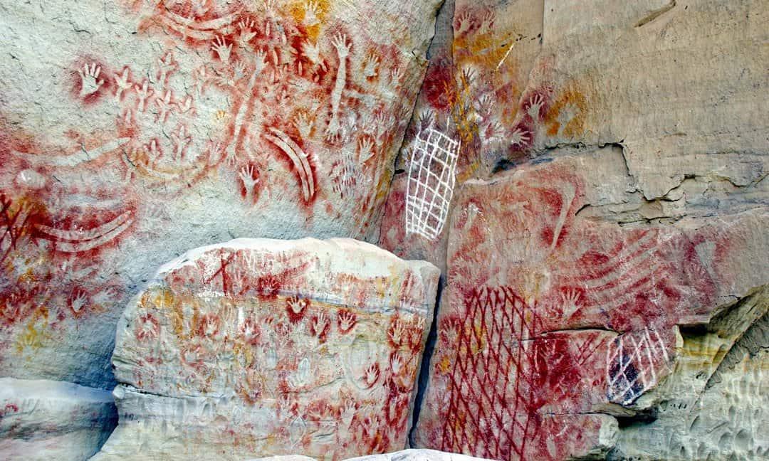 Cathedral Cave in Carnarvon Gorge, Queensland, Australia.