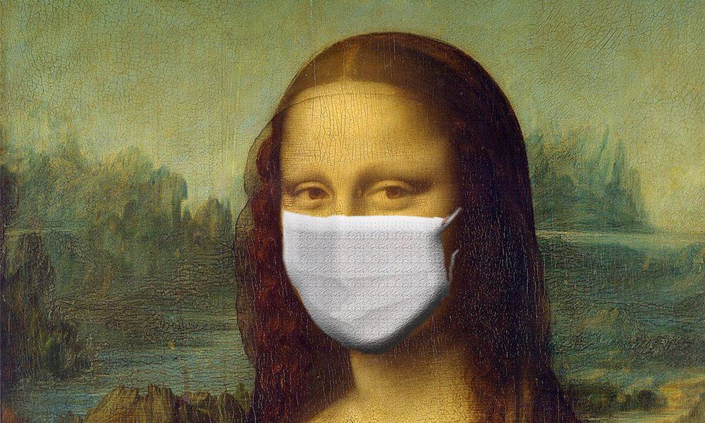 The Mona Lisa, one of the world's most well known paintings.