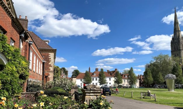 A Self Guided Walk Around Salisbury's Cathedral Close