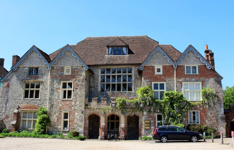 The exterior of the Rifles Museum in Salisbury Close.