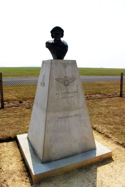 The memorial to the Army Air Observation Corps.
