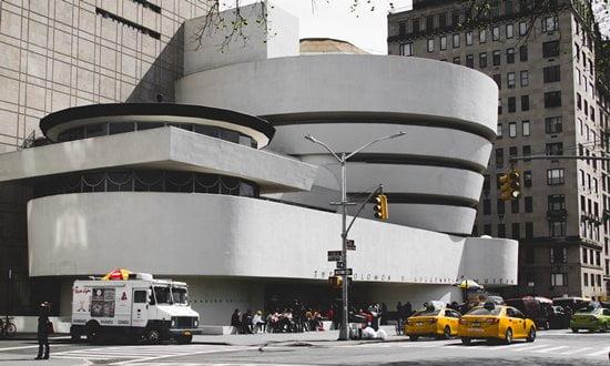 Frank Lloyd Wright's Guggenheim Museum in New York City.