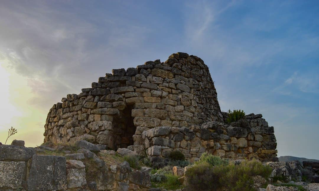 One of many nuraghe in Sardinia, the Serbissi Nuraghe.