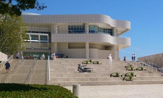 The Getty Centre exhibits pre 20th century European art.