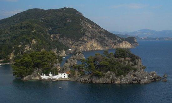 Ionian islands in Greece.