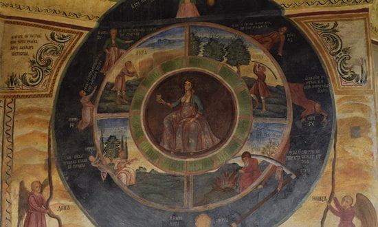 The Transfiguration Monastery near Veliko Tarnovo, Bulgaria.