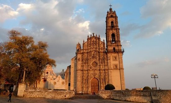 The church of of San Francisco Javier in Tepotzotlán, Mexico.
