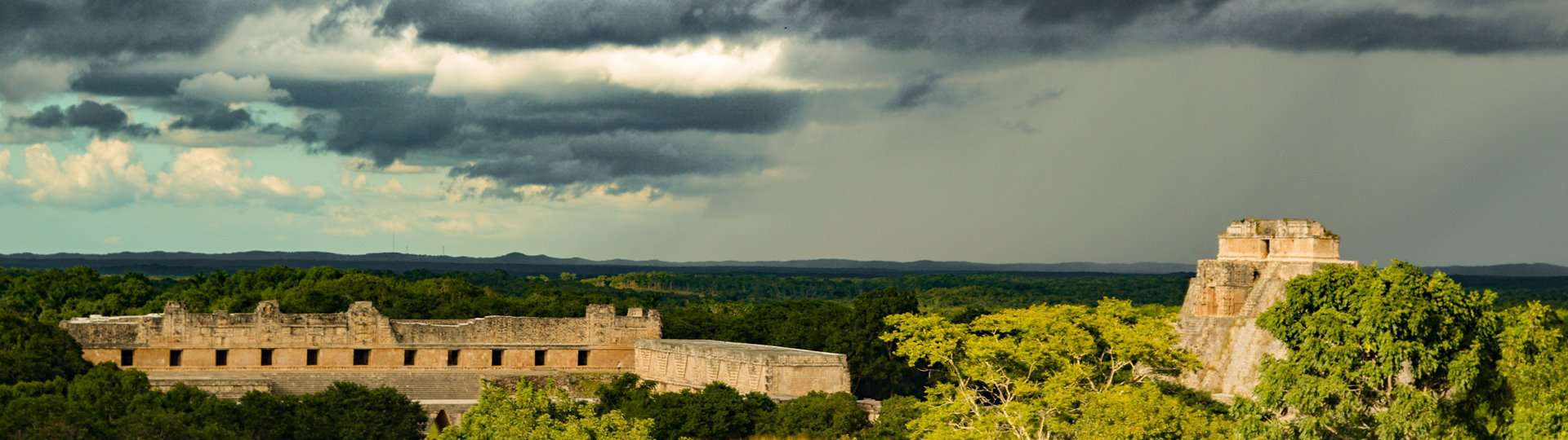 The Mayan site of Uxmal on the Yucatán peninsular, Mexico.
