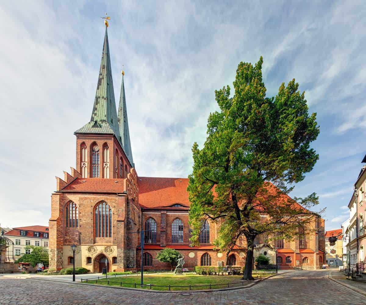 St Nicholas church - Nikolaikirche, the oldest church in Berlin.