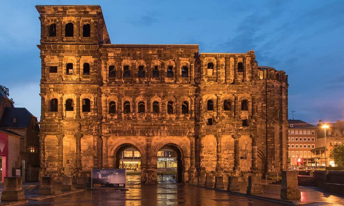 The Porta Nigra in Trier, Germany.